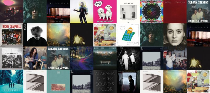 BrightByte Studio's Albums of the Year 2015