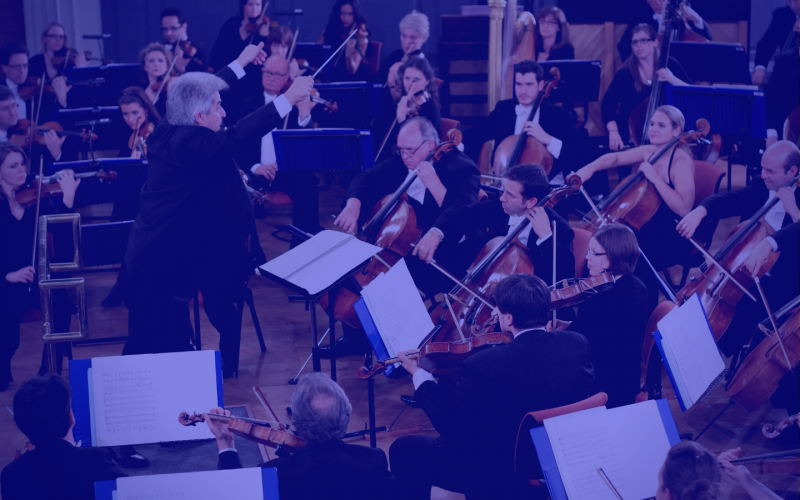 The mystery of symphony: Chaptr & the Oxford Philharmonic Orchestra
